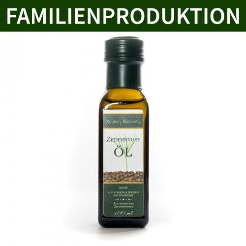 Exclusiv - Zedernöl 100 ml
