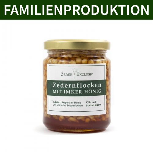 Zedernflocken mit Honig 290 g